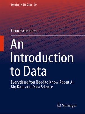 cover image of An Introduction to Data